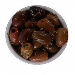 Schwarze Kalamata Oliven eingelegt 500gr
